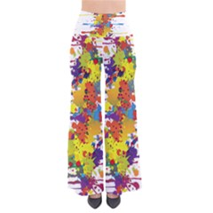 Crazy Multicolored Double Running Splashes Pants by EDDArt