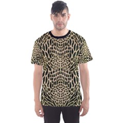 Brown Reptile Men s Sport Mesh Tee by LetsDanceHaveFun