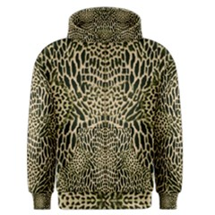 Brown Reptile Men s Zipper Hoodie