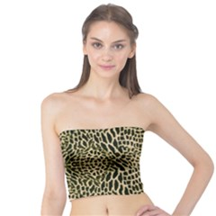 Brown Reptile Tube Top by LetsDanceHaveFun