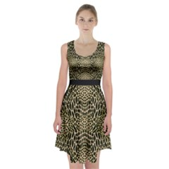 Brown Reptile Racerback Midi Dress by LetsDanceHaveFun