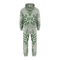 Green Snake Texture Hooded Jumpsuit (kids) by LetsDanceHaveFun