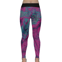 Asia Dragon Yoga Leggings  by LetsDanceHaveFun