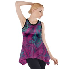 Asia Dragon Side Drop Tank Tunic by LetsDanceHaveFun