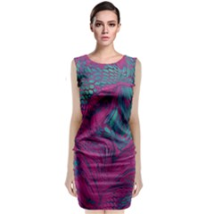 Asia Dragon Classic Sleeveless Midi Dress