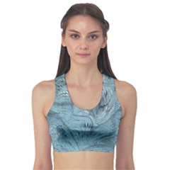 Frost Dragon Sports Bra by LetsDanceHaveFun