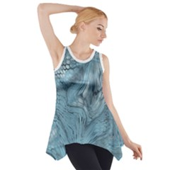 Frost Dragon Side Drop Tank Tunic