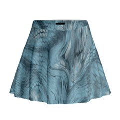 Frost Dragon Mini Flare Skirt