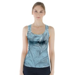 Frost Dragon Racer Back Sports Top by LetsDanceHaveFun