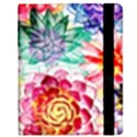 Colorful Succulents Samsung Galaxy Tab 8.9  P7300 Flip Case View2