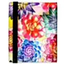Colorful Succulents Samsung Galaxy Tab 8.9  P7300 Flip Case View3
