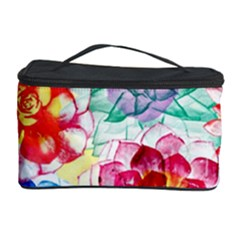 Colorful Succulents Cosmetic Storage Case
