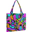 Abstract Sketch Art Squiggly Loops Multicolored Mini Tote Bag View2