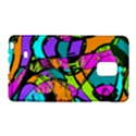 Abstract Sketch Art Squiggly Loops Multicolored Galaxy Note Edge View1