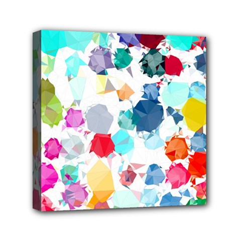 Colorful Diamonds Dream Mini Canvas 6  x 6