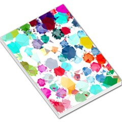 Colorful Diamonds Dream Large Memo Pads