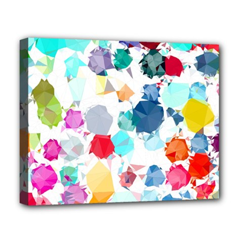 Colorful Diamonds Dream Deluxe Canvas 20  x 16