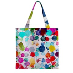Colorful Diamonds Dream Grocery Tote Bag