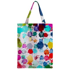Colorful Diamonds Dream Zipper Classic Tote Bag
