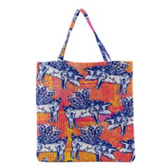 Little Flying Pigs Grocery Tote Bag