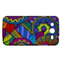 Pop Art Paisley Flowers Ornaments Multicolored Samsung Galaxy Mega 5.8 I9152 Hardshell Case  View1