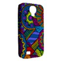 Pop Art Paisley Flowers Ornaments Multicolored Samsung Galaxy S4 Classic Hardshell Case (PC+Silicone) View2