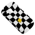 Dropout Yellow Black And White Distorted Check Samsung Galaxy S3 MINI I8190 Hardshell Case View5