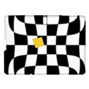 Dropout Yellow Black And White Distorted Check Samsung Galaxy Tab S (10.5 ) Hardshell Case  View1