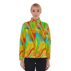 Happy Multicolor Painting Winterwear by designworld65