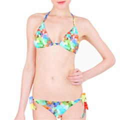Colorful Mosaic  Bikini Set by designworld65