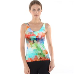 Colorful Mosaic  Tank Top