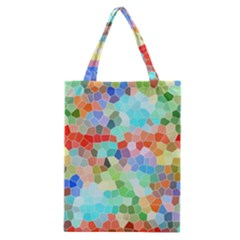 Colorful Mosaic  Classic Tote Bag by designworld65
