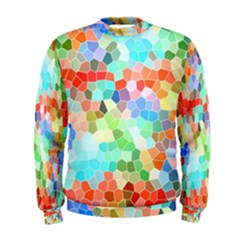 Colorful Mosaic  Men s Sweatshirt by designworld65