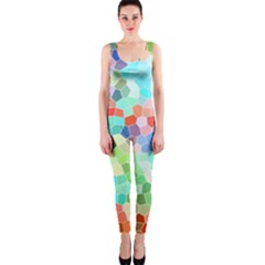 Colorful Mosaic  OnePiece Catsuit