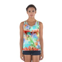 Colorful Mosaic  Women s Sport Tank Top
