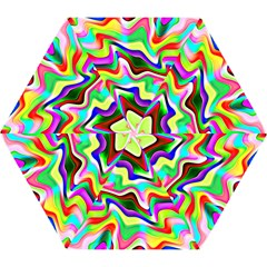 Irritation Colorful Dream Mini Folding Umbrellas by designworld65