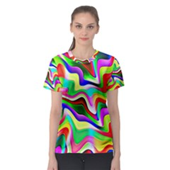 Irritation Colorful Dream Women s Sport Mesh Tee