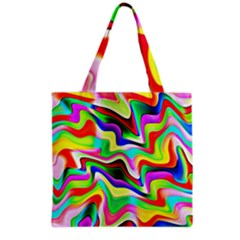 Irritation Colorful Dream Grocery Tote Bag