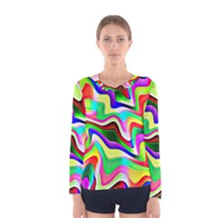 Irritation Colorful Dream Women s Long Sleeve Tee