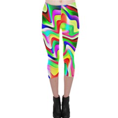 Irritation Colorful Dream Capri Leggings