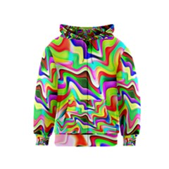 Irritation Colorful Dream Kids  Zipper Hoodie