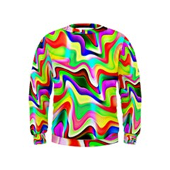 Irritation Colorful Dream Kids  Sweatshirt
