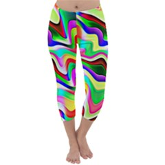 Irritation Colorful Dream Capri Winter Leggings