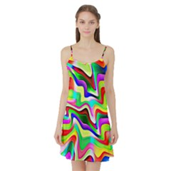Irritation Colorful Dream Satin Night Slip