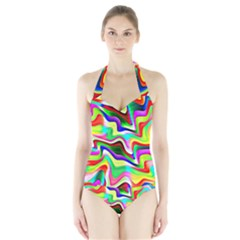 Irritation Colorful Dream Halter Swimsuit