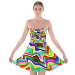 Irritation Colorful Dream Strapless Bra Top Dress