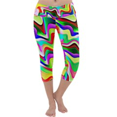 Irritation Colorful Dream Capri Yoga Leggings