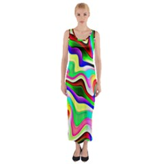Irritation Colorful Dream Fitted Maxi Dress