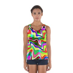 Irritation Colorful Dream Women s Sport Tank Top