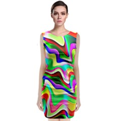 Irritation Colorful Dream Classic Sleeveless Midi Dress